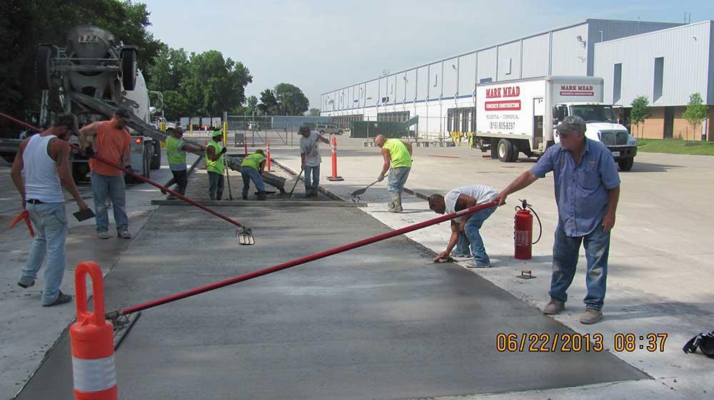 Commercial Concrete Contractors Kansas City – Mark Mead Concrete